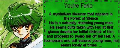 I'm Ferio!